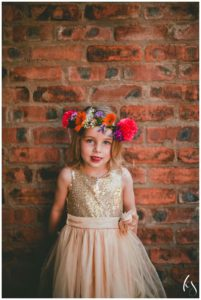 floral crowns and hair accessories